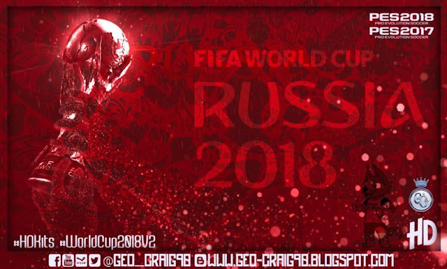 World Cup Rusia 2018 Kitpack PES 2017