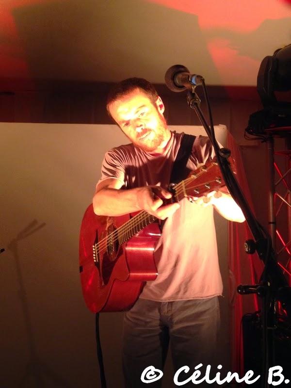 Showcase privé de Damien Rice au Châlet des Iles