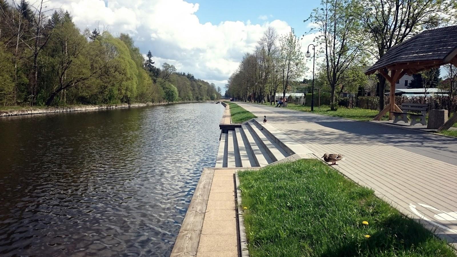 Kanał Augustowski, Augustów, Polska, atrakcje Polski