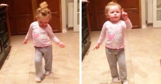 Después de ver a esta niña bailar olvidarás tus problemas