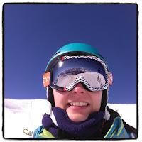 selfie au ski