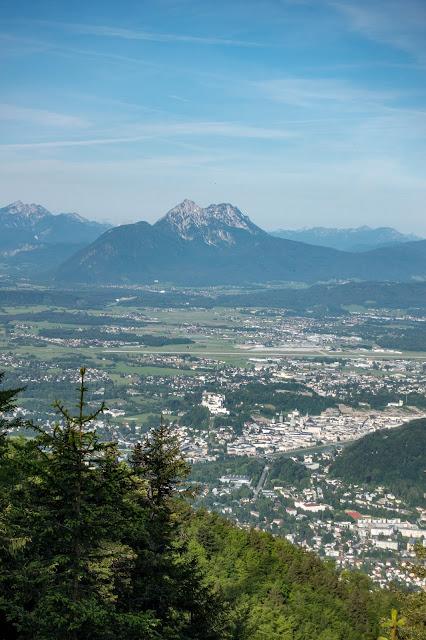 Gaisberg und Nockstein von Koppl  Wanderung FuschlseeRegion  Wandern Salzkammergut 07