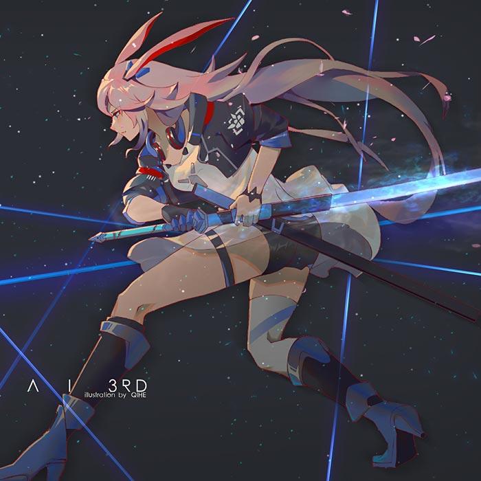 Collapse 3 - Eight Sakura: Royal Costume Wallpaper Engine