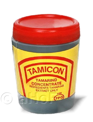 One of many brands of tamarind concentrate