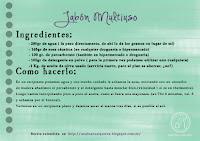 Receta Jabón Multiuso