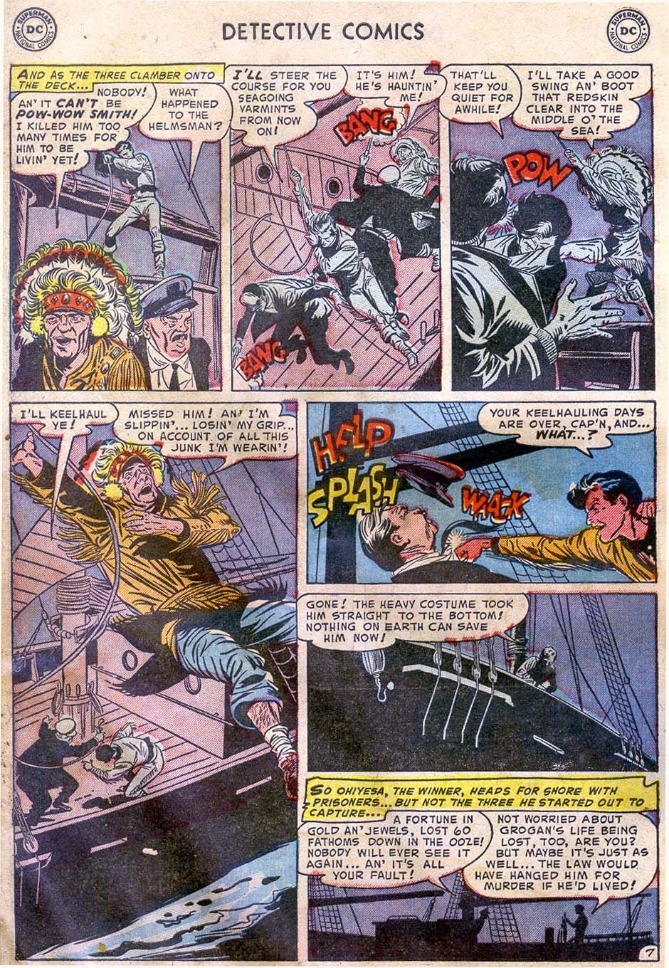 Read online Detective Comics (1937) comic -  Issue #196 - 40