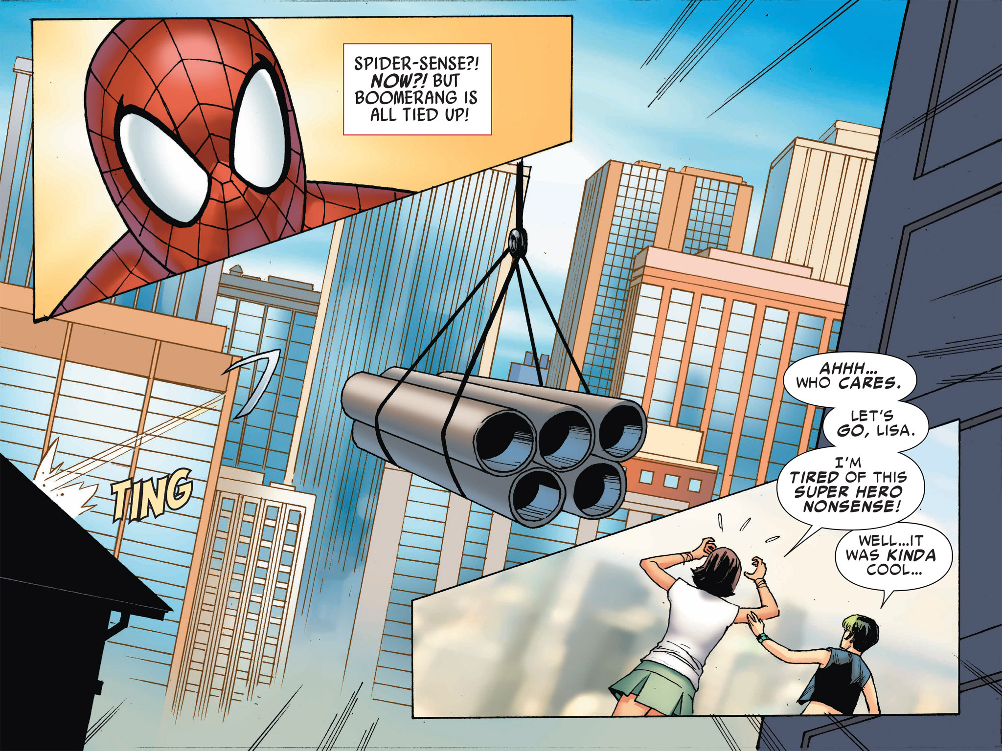 Read online Ultimate Spider-Man (Infinite Comics) (2016) comic -  Issue #2 - 36