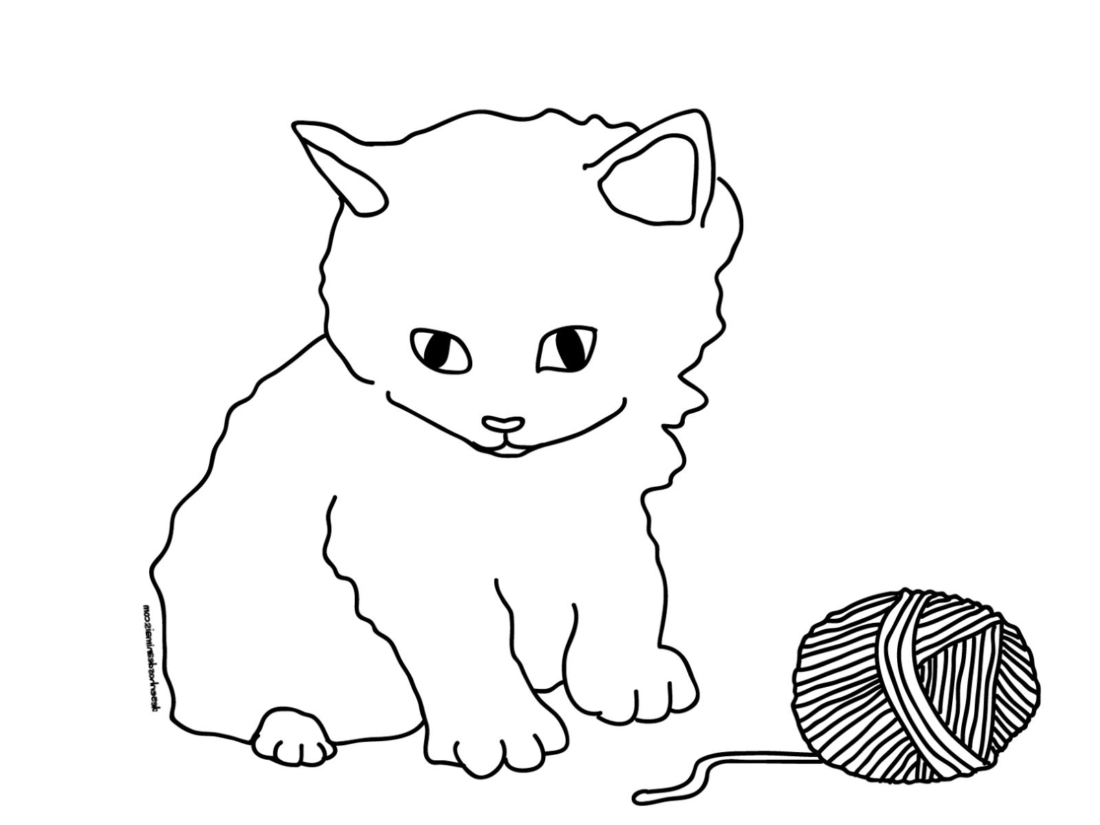 Malvorlagen Katzen Zum Ausdrucken