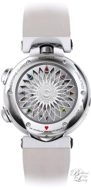 Brilliant Luxury ♦ Christophe Claret Margot Watch Women