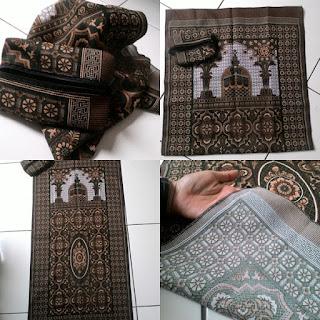 grosir sajadah untuk souvenir cara melipat sajadah untuk souvenir-085227655050