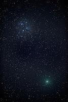 Kometa 46P/Wirtanen, zdjęcie z 15.12.2018 r. Credits: Rob Ratkowski. Kula,Maui Parametry nieznane