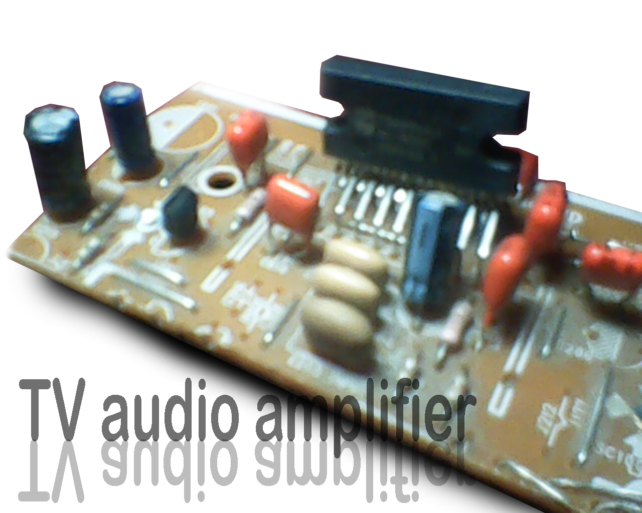 Power Amplifier Compatible With Tv Audio Subwoofer Bass Gain Control Circuit Diagram Amplifiercircuit In This