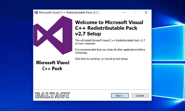 Microsoft Visual C++ Redistributable 2005-2017 v2.7 Repack