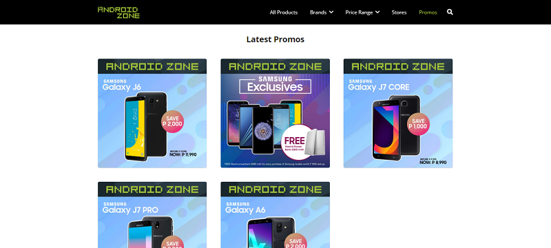 Latest promos of Android Zone