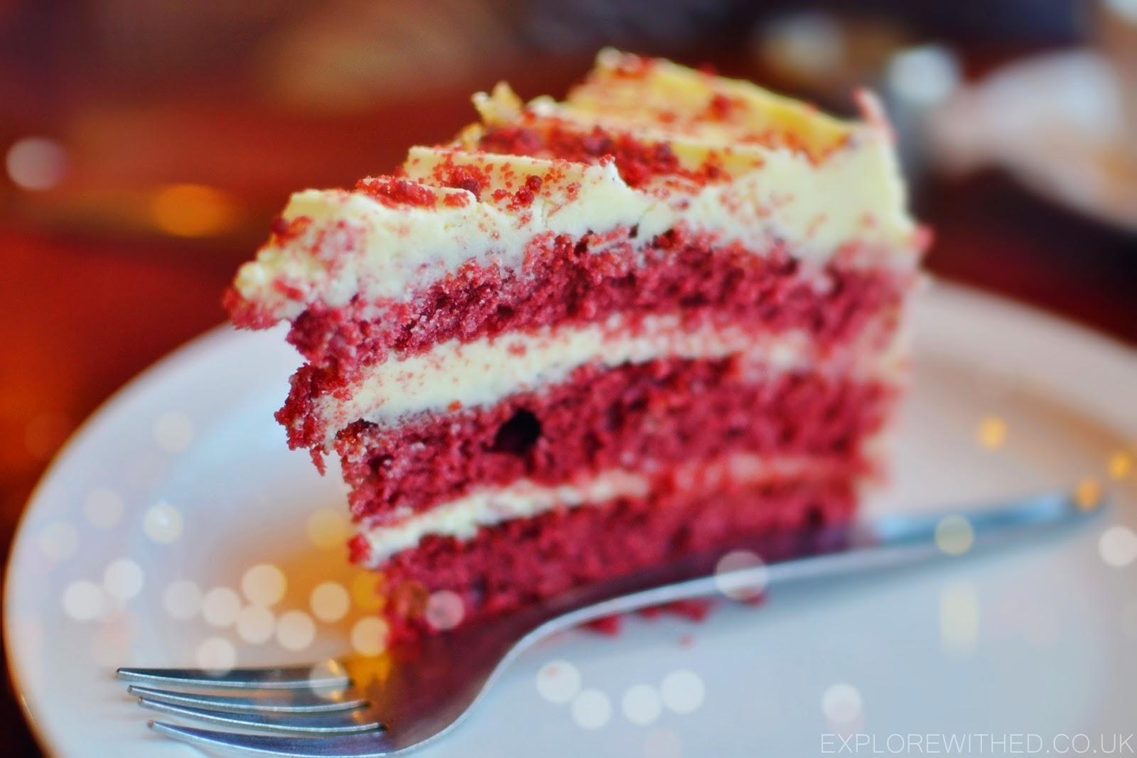 The Celtic Lounge Penarth, Penarth Coffee Shop, Red Velvet Cake
