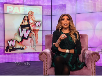It was distasteful – Wendy Williams comes for Nicki Minaj's Paper Magazine cover
