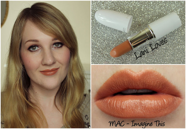 MAC Imagine This lipstick swatch