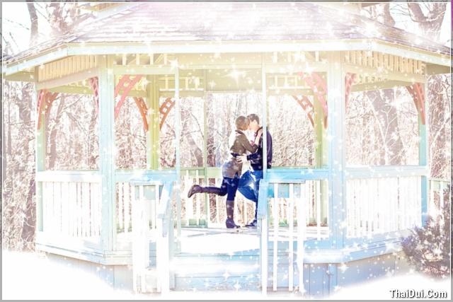 ảnh tình yêu mùa đông lãng mạn