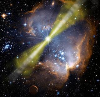 December 27, 2004:  Greatest Gamma Ray Burst Recorded