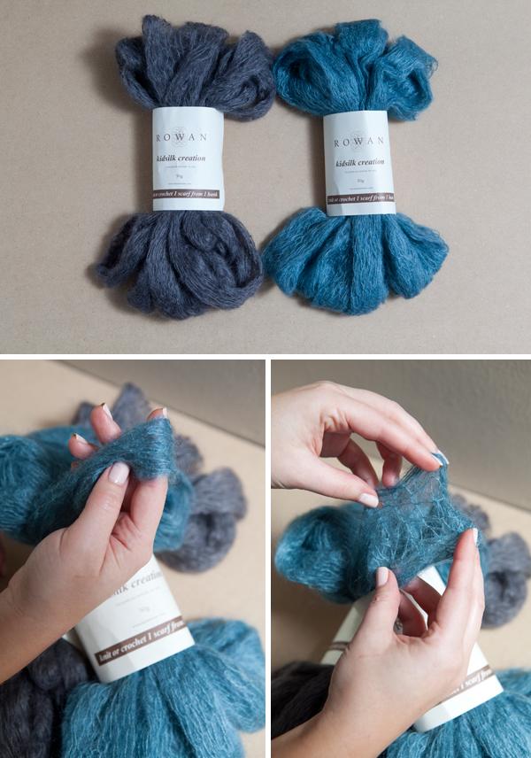 Patrones crochet - Como hacer una bufanda de lana gorda ...