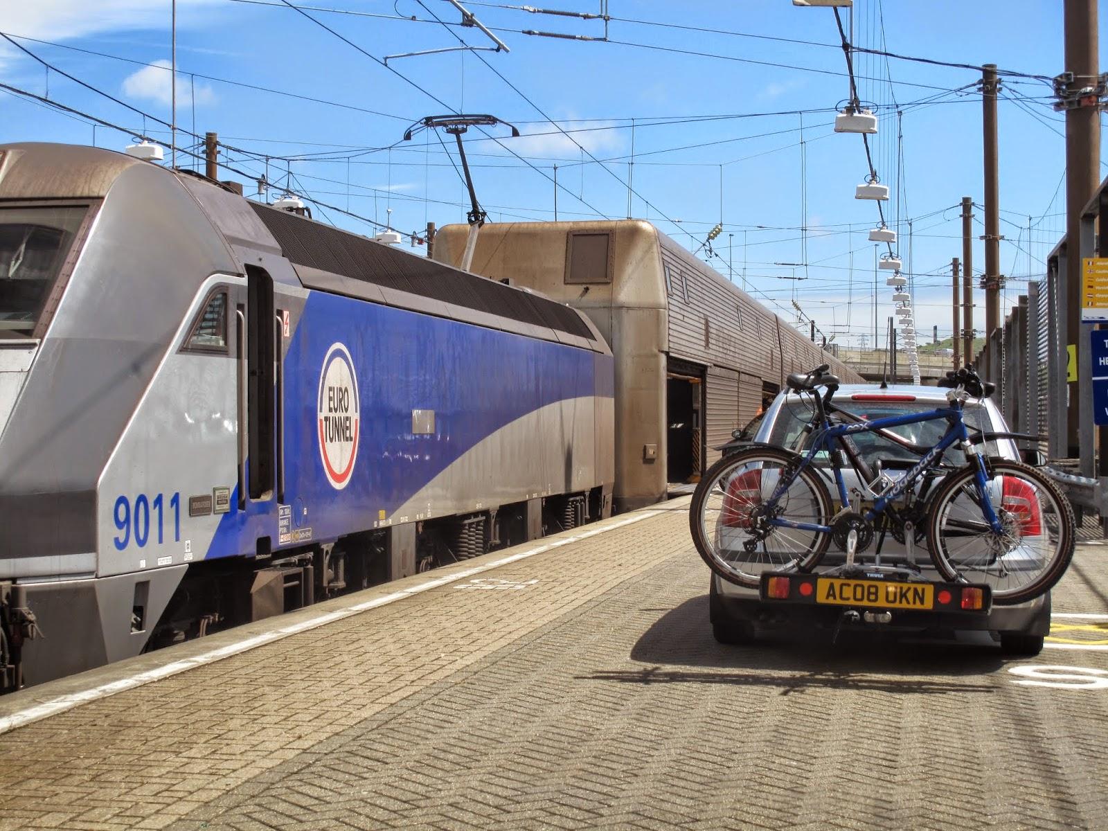 Tren Canal de la Mancha