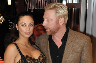 Boris And Lily Becker In Romantic Mood