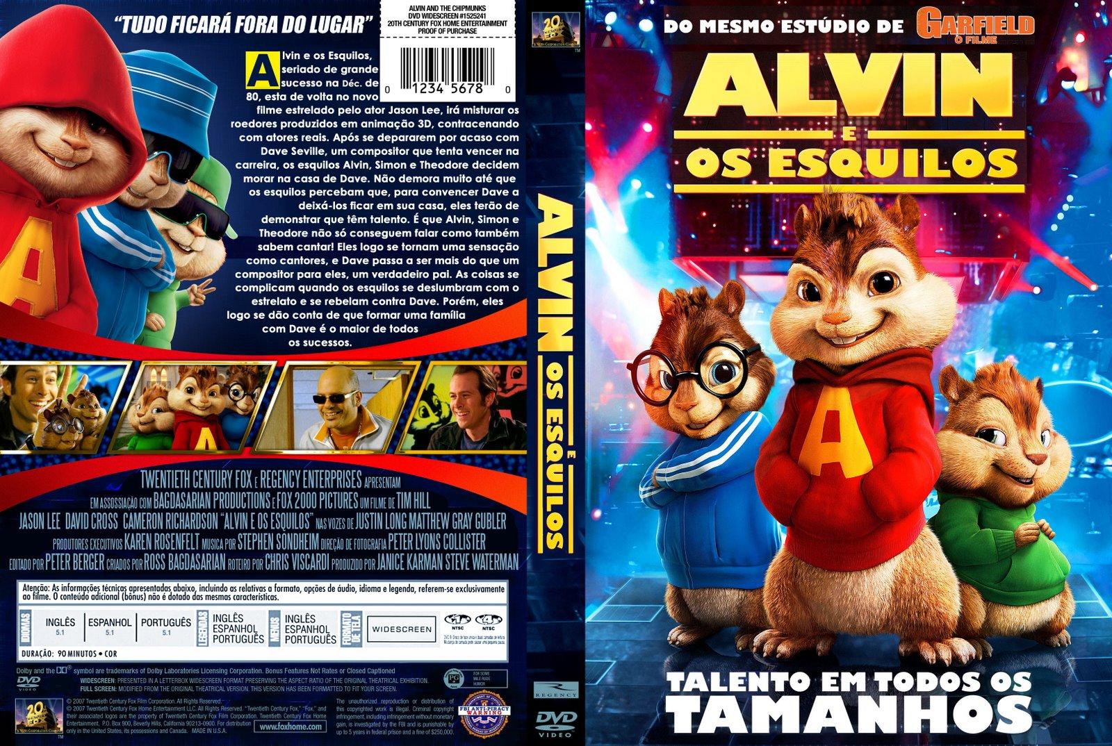 Alvin e os esquilos da cidade