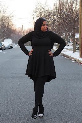 style untuk orang gemuk yang berhijab