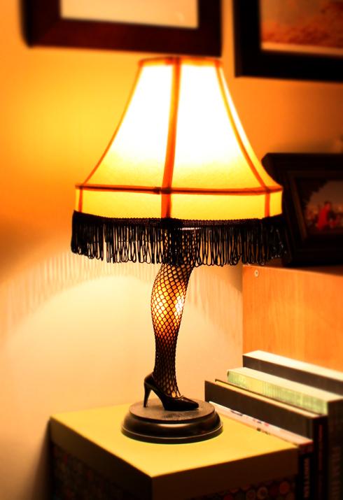 Miniature Leg Lamp A Christmas Story Leg Lamp String Of