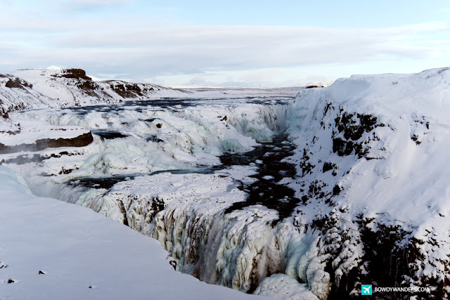 bowdywanders.com Singapore Travel Blog Philippines Photo :: Iceland ::  Gullfoss Waterfall in Winter: Impressive and Insane, Only in Iceland