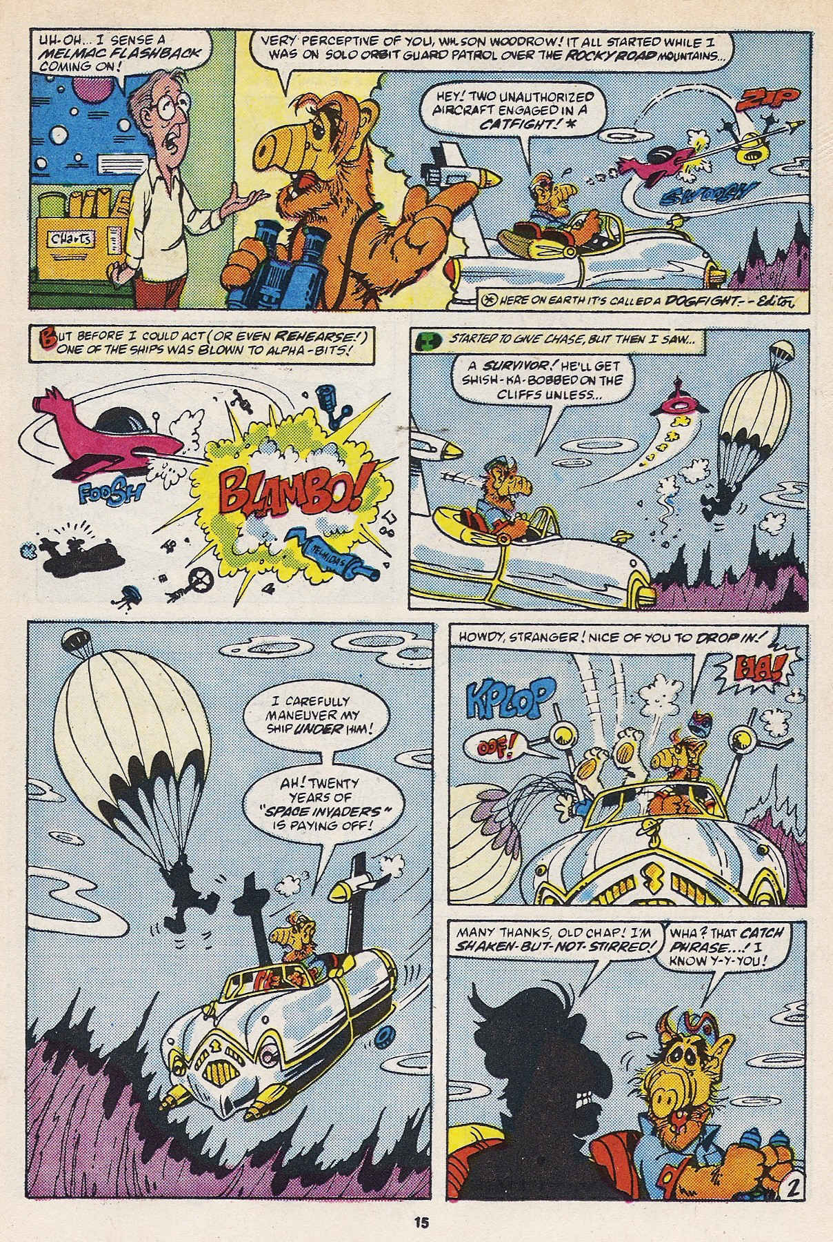 Read online ALF comic -  Issue #16 - 17