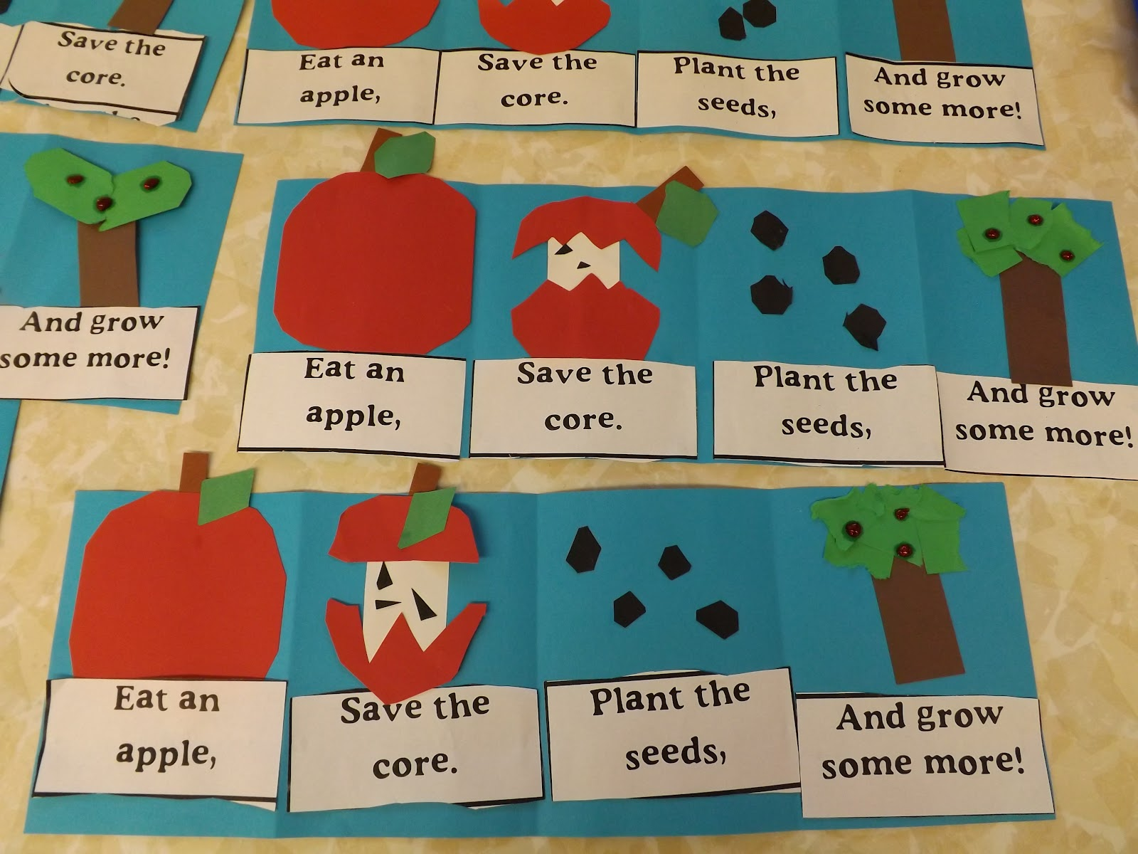 Mrs Vento S Kindergarten Apple Week