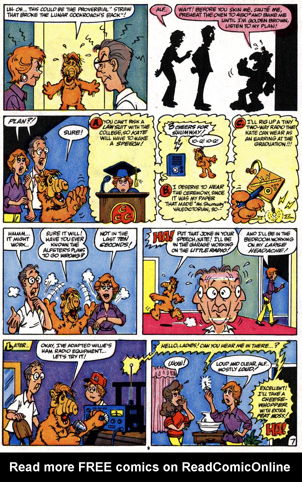 Read online ALF comic -  Issue #10 - 8