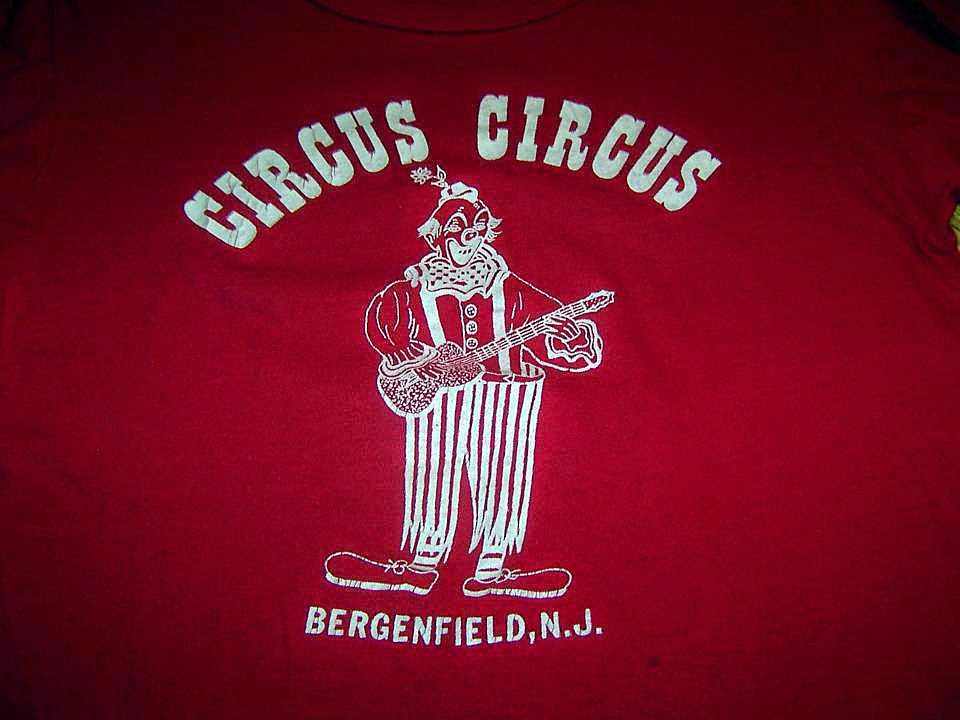 Circus Circus rock club t-shirt