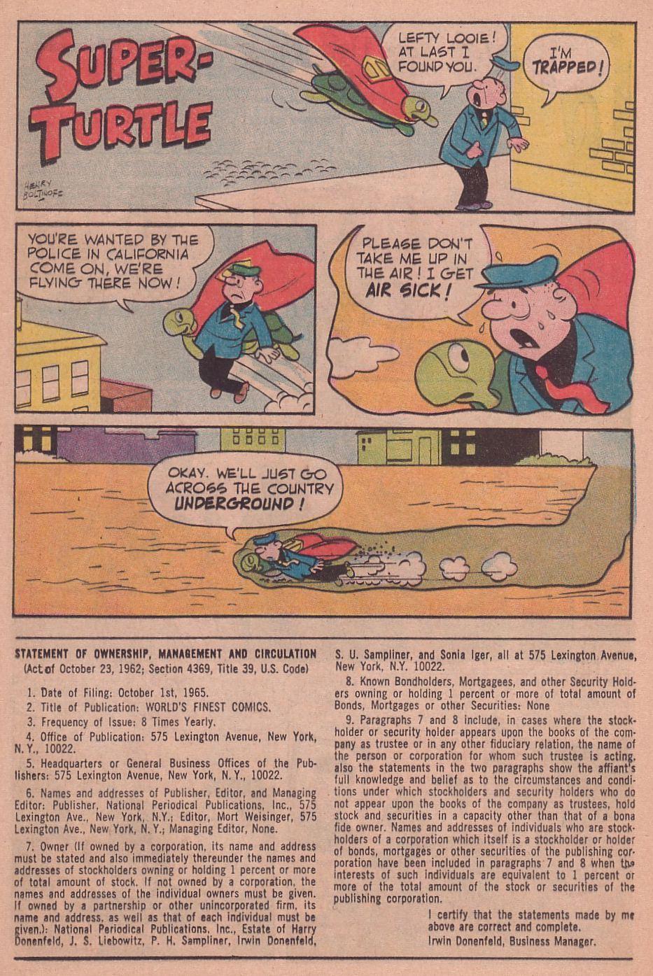 Read online World's Finest Comics comic -  Issue #156 - 13