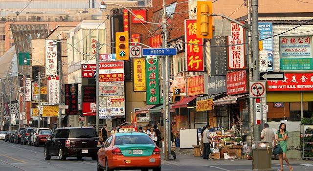 Chinatown em Toronto
