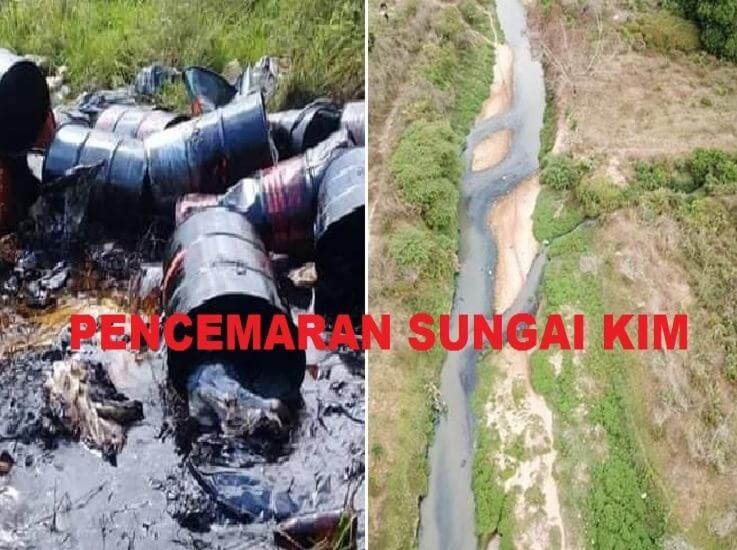 Pencemaran Sungai Kim-kim