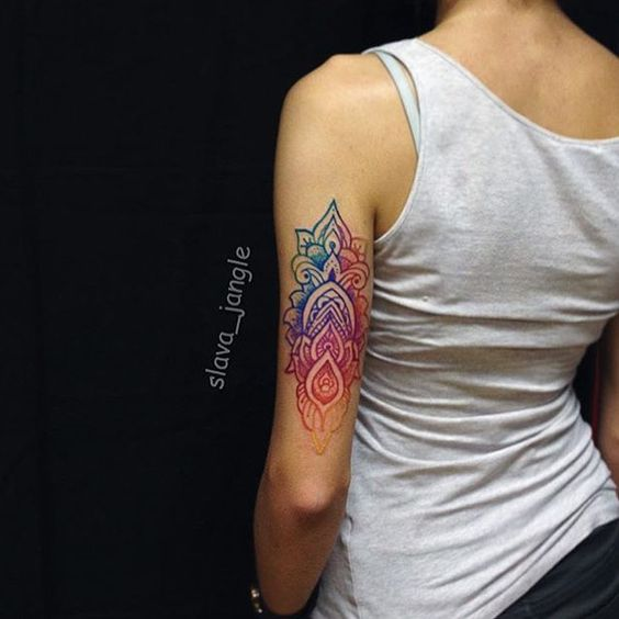 Amazing Ombre Tattoo Ideas  The HairCut Web