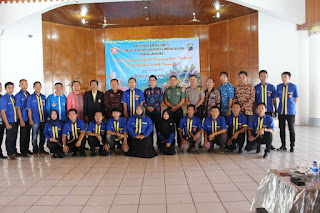 Kepengurusan Karang Taruna Kecamatan Kalianda 2016-2021 Resmi Dilantik, Ini Sususnannya