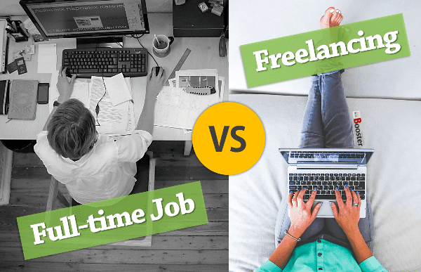 Freelancing Vs Full-time Job