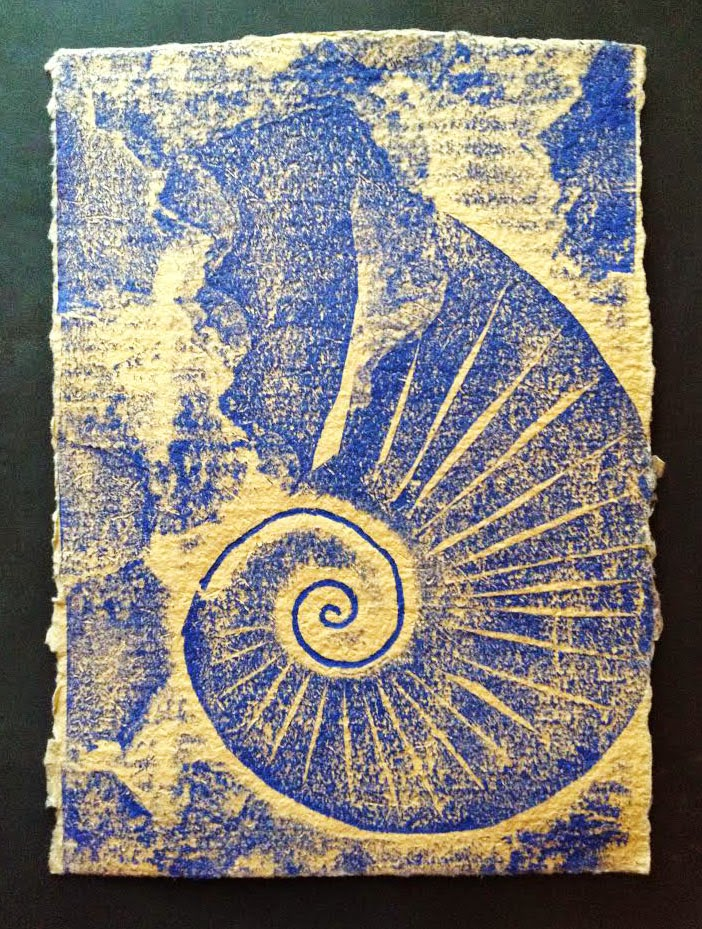 Words On Woodcuts Quot Ammonite Process Of Elimination Quot