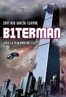 Portada de la novela juvenil ciberpunk B1terman