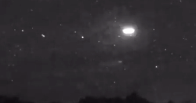 UFO Caught On Video Over Jackson Hole
