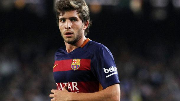 Sergi Roberto confía en que el Barça pueda ganar la Liga