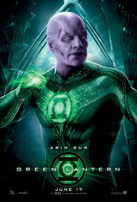 Green Lantern Character Movie Poster Set - Temuera Morrison as Abin Sur