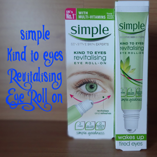 Tania Michele: Simple Revitalising Eye Roll On | Review