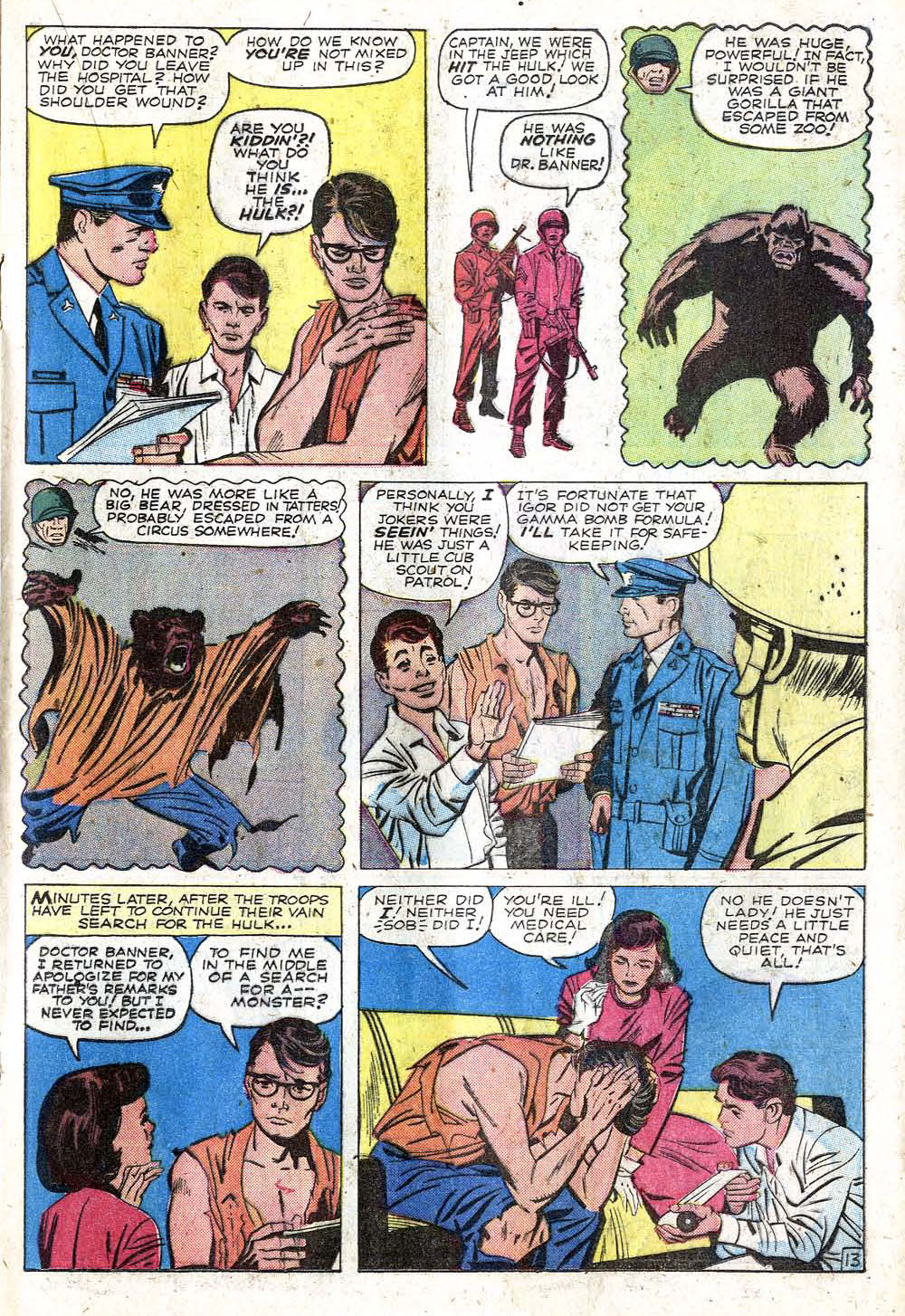 The Incredible Hulk (1962) issue 1 - Page 17