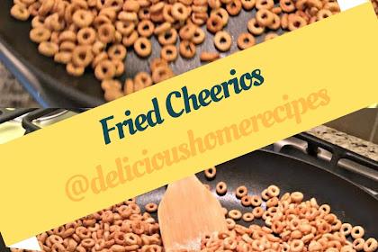 Fried Cheerios