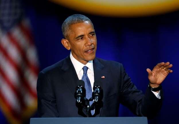 Obama says goodbye in final speech