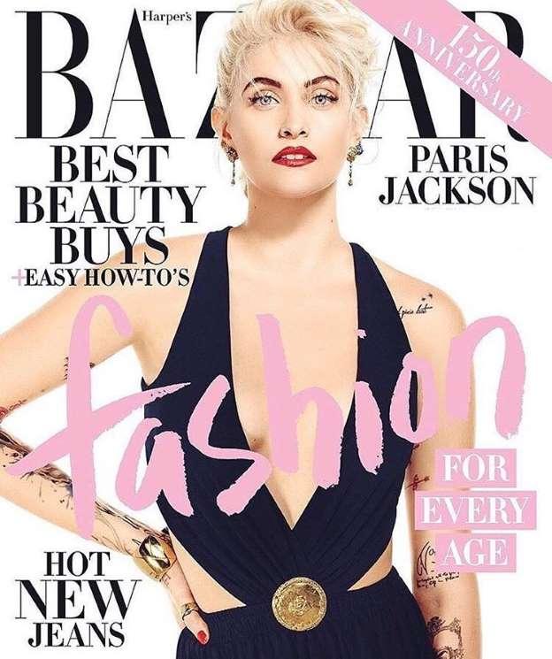 Paris Jackson Removes Michael Jackson Headline From 'Harper's Bazaar' Cover